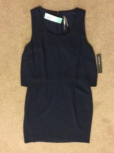 Andrew Marc Travis Dress Navy