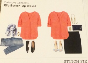 Collective Concepts Rilo Button-up Blouse Outfit